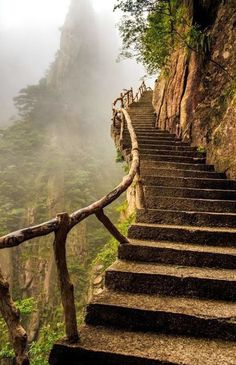 Mountain Stairway, China