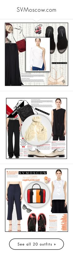 """""""SVMoscow.com"""" by blagica92 ❤ liked on Polyvore featuring Ann Demeulemeester, Comme des Garçons, Comme des Garçons Homme, Tom Ford, Kreafunk, DRKSHDW, Faliero Sarti, Tiffany & Co., Maroo and Rick Owens Lilies"""