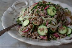 Buttermilk Farro Salad / 101 Cookbooks