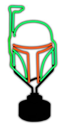 Boba Fett Neon Sign | From: Diamond Select via Amazon | #starwars #starwarsproducts #bobafett #starwarstuesday #starwarseveryday