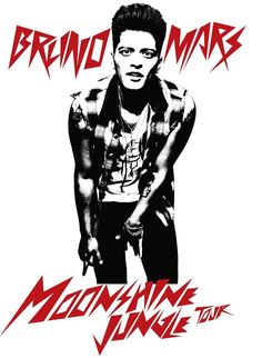 Bruno Mars Moonshine Jungle Tour~ so excited me  the hubs are going!!!! Come on June!!!!!!