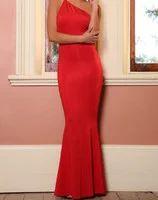 Dlouhé červené šaty