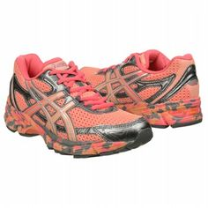 Proud owner of these super cute new running shoes - ASICS  Women's GEL-Enhance Ultra at Famous Footwear
