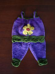 Ravelry: Flower Power Baby Set pattern by Darlene Kitterman