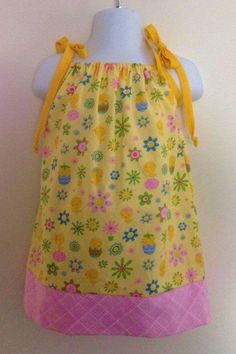 Yellow Easter Pillowcase Dress Size 9 months on Etsy $15.00 .etsy.com & Valentine\u0027s Day pillowcase dress...I so need to learn to sew so I ... pillowsntoast.com