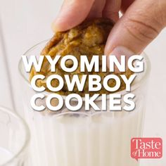Wyoming Cowboy Cookies Recipe