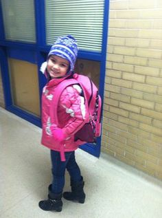 MY GRAND DAUGHTER NOW GOING TO SCHOOL FIRST TIME! WOHOO YOU GO ELEXA! GRANDMAMMY LOVES YOU