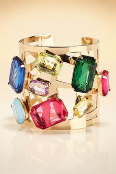 Spectacular bangle #BostonProper #Holiday #Sparkle #Jewels
