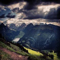 Tandem-paragliding on Hoher Kasten with Flugschule Appenzell #swissspots #switzerland #freizeit #ferien #sport #flying #appenzell