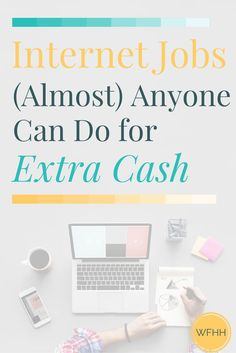 You don't need a ton of experience or special skills to earn money online. With these internet jobs that (almost) anyone can do, it's never been simpler to add extra income to your earnings each month. Click through to find out where you can find work and