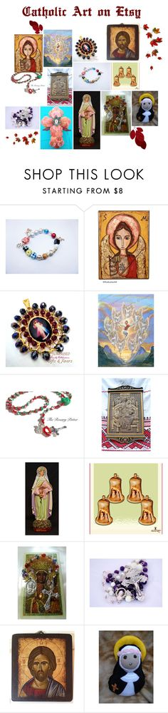 """""""Catholic Art on Etsy by TerryTiles2014 - Volume 13"""" by terrytiles2014 on Polyvore featuring interior, interiors, interior design, Casa, home decor e interior decorating"""