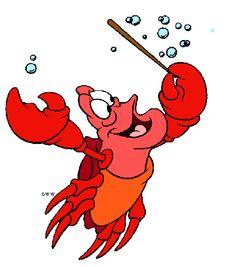 Little Mermaid Sebastian