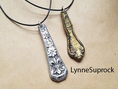 learn how to make vintage silverware pendants using AVES products.