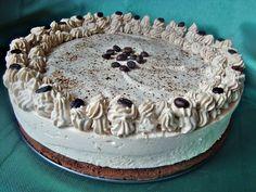 Tort cu crema de iaurt si ness - CAIETUL CU RETETE Cheesecakes, Tiramisu, Ethnic Recipes, Food, Mai, Meal, Cheese Cakes, Eten, Meals