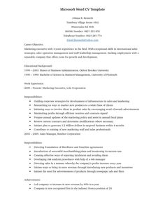 professional resume template for word httpwwwresumecareerinfo template for resume microsoft word - Resume Templates In Microsoft Word