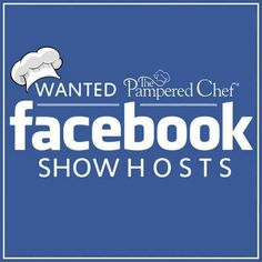 The Pampered Foodie Chef is looking for people to book online #PamperedChef parties visit her page and book your Facebook party today