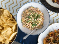 Get Slow-Cooker Corn Dip Recipe from Food Network