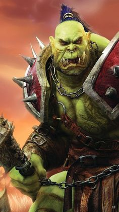 World of Warcraft Race: Orc Class: Warrior