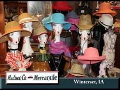 Winterset Iowa's Madison County Mercantile on Our Story's the Celebrities