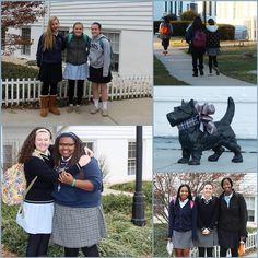 So glad that the girls are back on campus after a restful winter break! #allsmiles #allgirls #2015