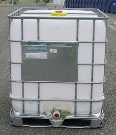 4. - Tiszta, ADR / UN, IBC, 1000 L-es tartály / konténer