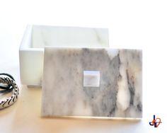 Jewelry box Arabesque 6  in Special white by TagliazucchiArteShop