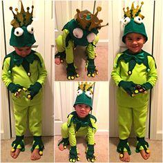 Diy animal costume diy frog costume diy halloween diy stuff my babes frog prince costume prince naveen to be exact solutioingenieria Images