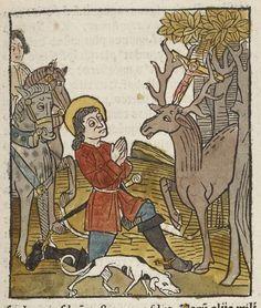 [Legendae sanctorum quas collegit in unum frater Jacobus de Voragine,. Medieval Manuscript, Illuminated Manuscript, Renaissance, Merovingian, Bnf, Western Art, Middle Ages, Natural History, Art Forms