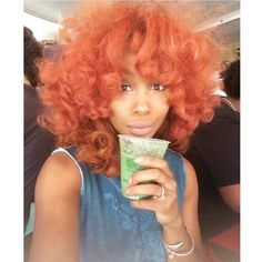 If you think you can't wear bangs with curly hair, think again. See how celebs are styling their curls on wmag.com.