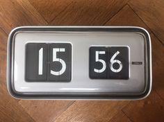 Solari Udine Cifra 5 - Gino Valle Design - Klappzahlenuhr Uhr Clock - Vintage
