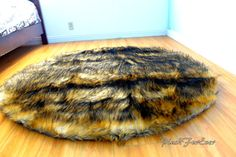 Oval Rugs, Round Area Rugs, Nursery Rugs, Shaggy, Faux Fur, Plush, Blue And White, Bear, Shop