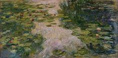 Resultado de imagen para water lilies monet