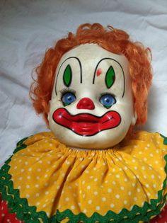 vintage clown baby doll 80's | Perfekta Vintage Baby Doll Clown | Deeply Creepy - Hee Hee