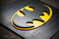 Superhelden Batman, Wand, Kinder Schlafzimmer Wandkunst