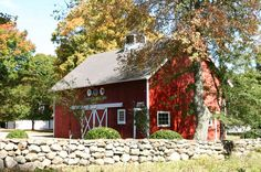 The second largest original farm barn in Weston is ideal for horses. Historic Properties, Farm Barn, Connecticut, Square Feet, Colonial, Home And Garden, Farmhouse, Real Estate, Cabin