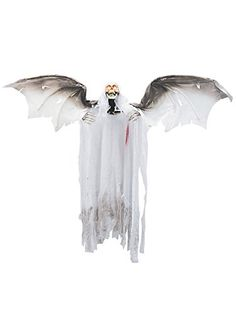 animated bloody flying winged reaper prop at a wonderful price get on site daily promos offering props decorations costumes since - Fright Catalog Halloween Decorations