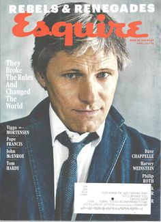 Viggo Mortensen Esquire Magazine June/July 2016  Rebels Renegades #Hearst