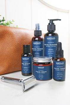 Natural self-care for the modern man Cleanser, Moisturizer, Modern Man, Men's Collection, Serum, Personal Care, Natural, Moisturiser, Body Lotion