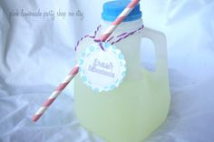 PLaStic MiLK JuGsQuart size32ozset of 3 with by pinklemonadeparty, $7.95  - send to Australia