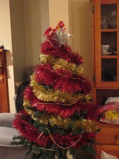 Christmas 2014 The year of the last hobbit movie so Smaug tree