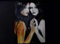 Eva Green by MM-ARTDrawing