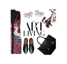 """""""THE ART of LIVING"""" by mockingjayafire ❤ liked on Polyvore featuring Rosetta Getty, Thakoon, Forever 21, MICHAEL Michael Kors and FitFlop"""