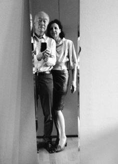 Selfie with his wife... Who is Makio Hasuike? Find it out on Designbest Magazine | #designbest #people #design #culture |