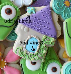 Galletas torre Rapunzel Rapunzel Birthday Party, Owl Birthday Parties, Tangled Party, 4th Birthday, Birthday Ideas, Tangled Rapunzel, Cute Cookies, Fancy Cookies, Princess Cookies