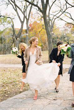 Beautiful Winter Wedding- Stephanie Hunter Photography - www.stephaniehunterphotography.com  Read More: http://www.stylemepretty.com/2014/07/24/black-white-vintage-inspired-wedding/