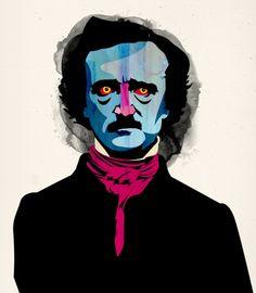 Edgar Allan Poe by Alvaro Tapia Hidalgo