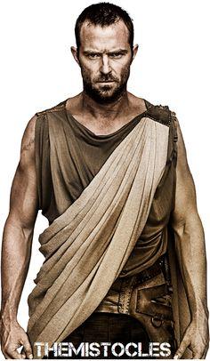 Sullivan Stapleton as Themistokles in 300: Rise of an Empire