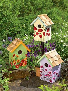cute birdhouse paint ideas (16)                                                                                                                                                                                 More