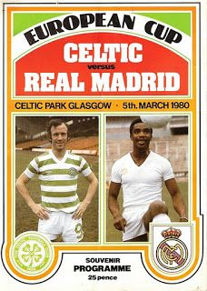 Celtic vs. Real Madrid, European Cup 1979/80.