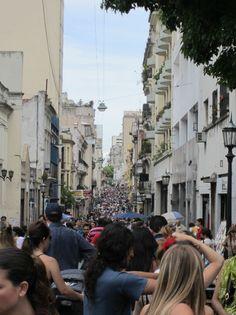 san telmo street fair in Buenos Aires
